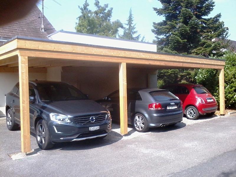 Abris voiture geneve abris de jardin pergola geneve for Pergola pour voiture